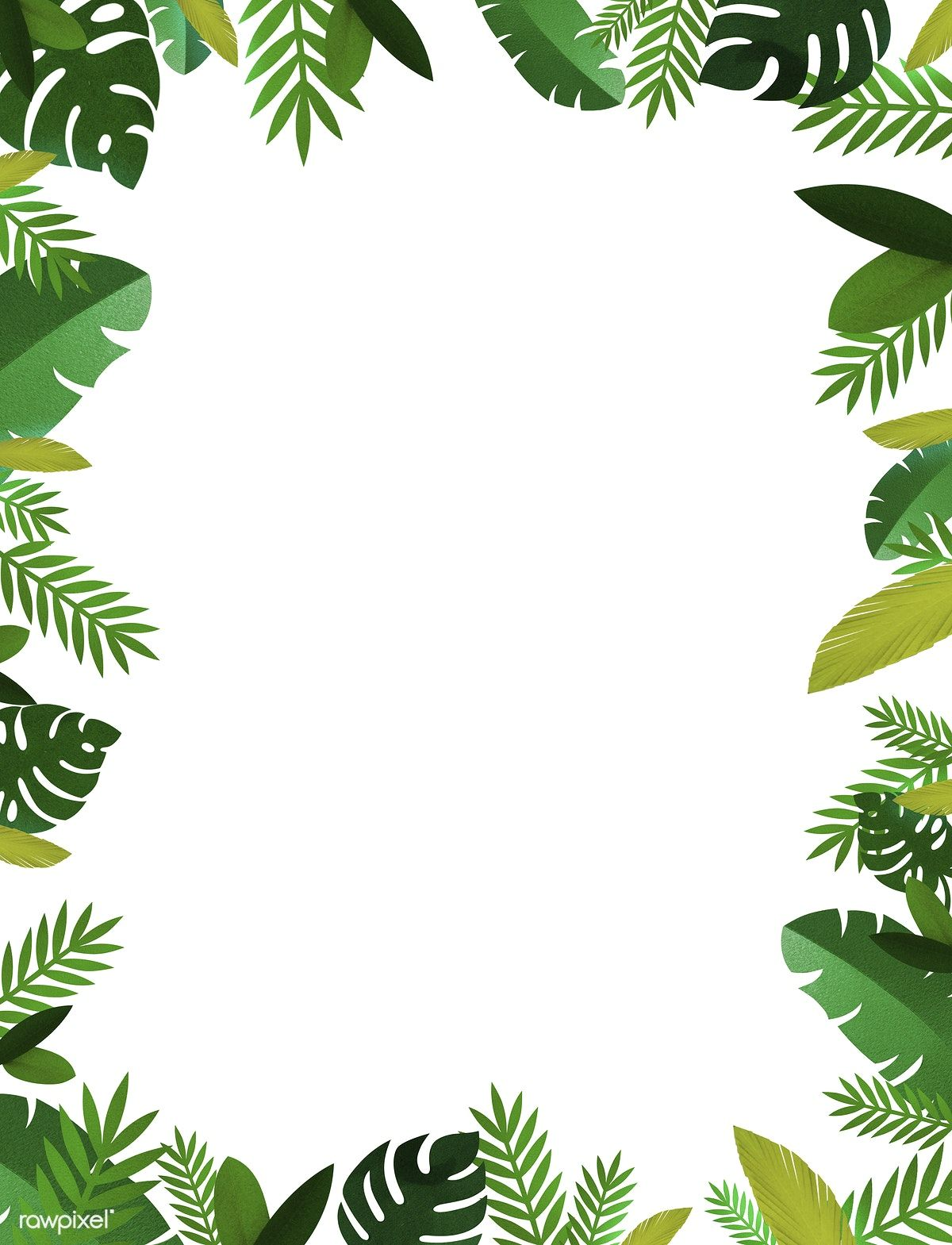 Download premium illustration of Tropical Handcrafted