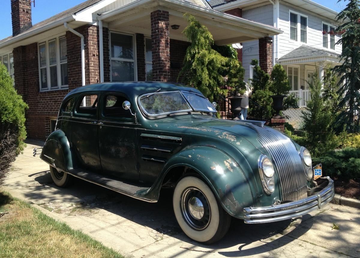 1934 Chrysler Airflow Sedan With Images Chrysler Airflow