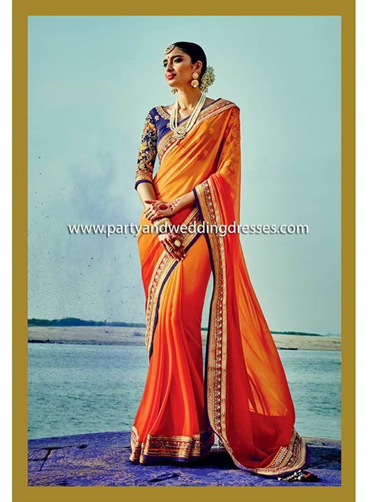 Beautiful Designer Saree now available online at www ...