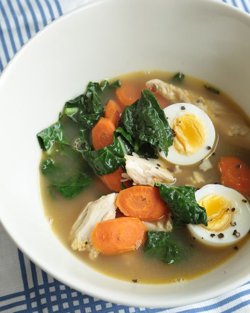 It's so easy to grab a rotisserie chicken from the grocery and make this healthy and wholesome chicken soup! The key is using great stock and the freshest organic ingredients!