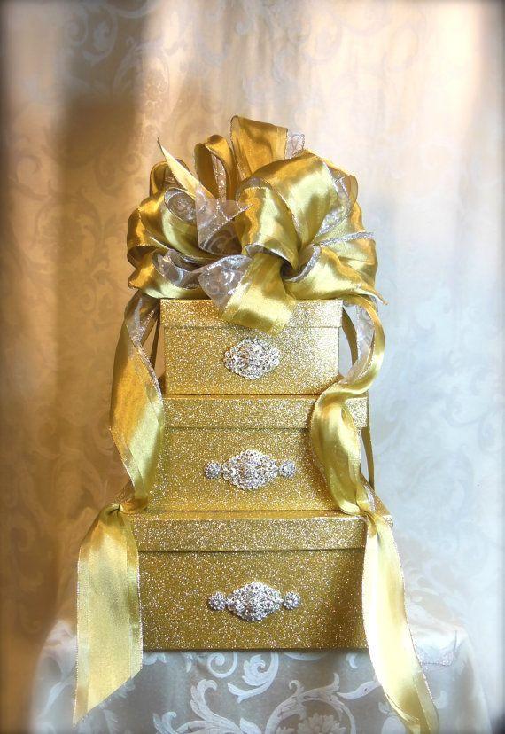 Wedding Card Box Wedding Reception Card Box by WrapsodyandInk ...
