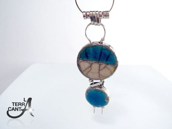 """THREE DAYS OF BLUE!!! 21, 22 and 23 February. Coupon code """"ONLYBLUE"""" -30% OVER $ 25. YOU WILL FIND ONLY ITEMS BLUE WITH A GREAT DISCOUNT! WAITING FOR YOU Gioiello Raku argento 925 argento italiano argento di LaTerraCanta"""