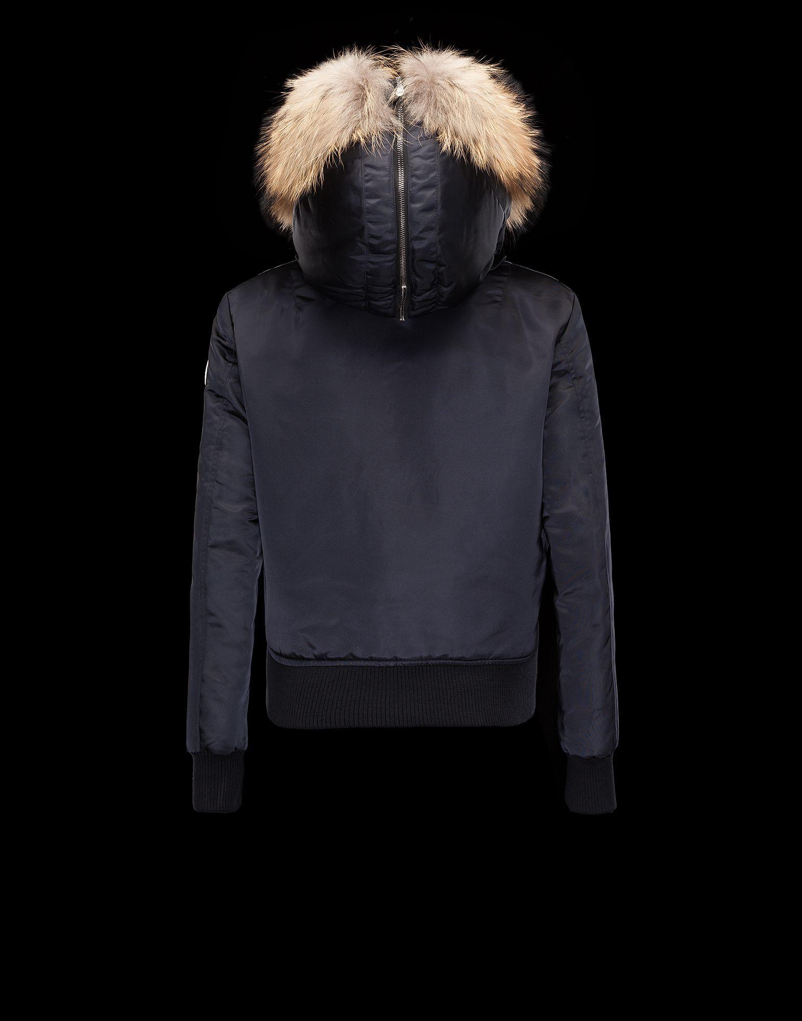 218b7b16da14 Moncler Bomber Jacket EULIMENE Women Fall Winter 2015 16