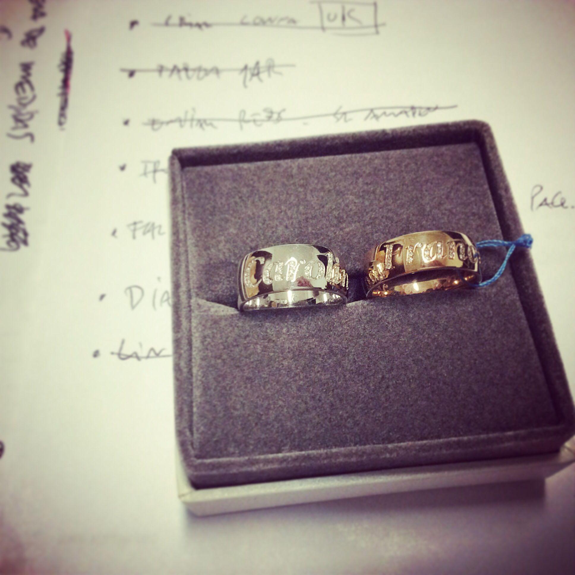 Anéis em ouro e diamantes! Personaliza o teu!