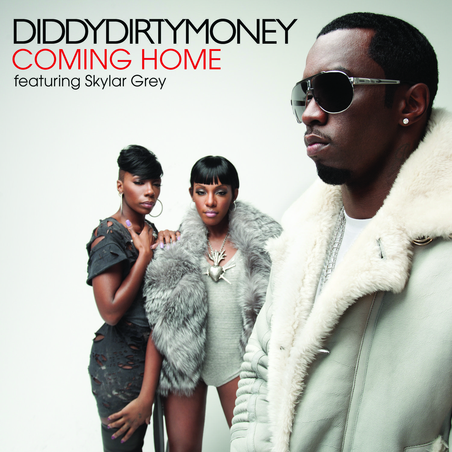 Diddy – Dirty Money, Skylar Grey – Coming Home (single cover art)