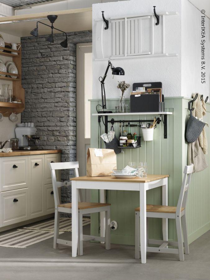 mesa pequeña para cocina ikea | Muebles en 2019 | Cocinas pequeñas ...
