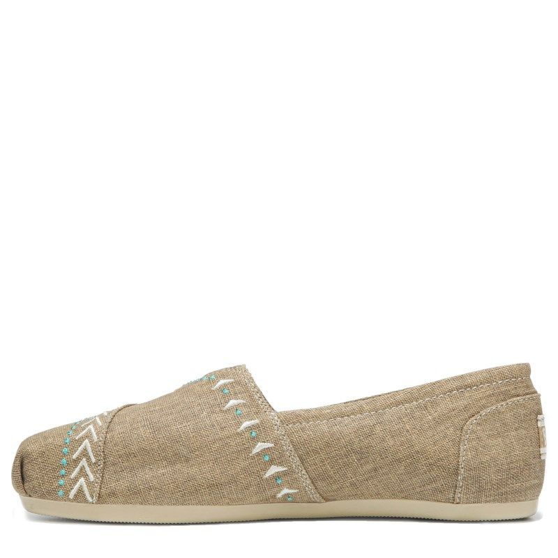 061adf809ad8 Skechers Women s Bobs Plush Feather Slip On Shoes (Tan)