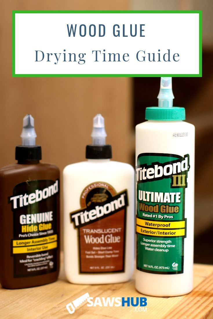 How Long Does Wood Glue Take to Dry? Woodworking