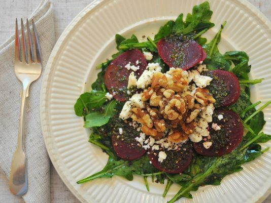 Sunday Supper: Ancient nuts add texture to salad