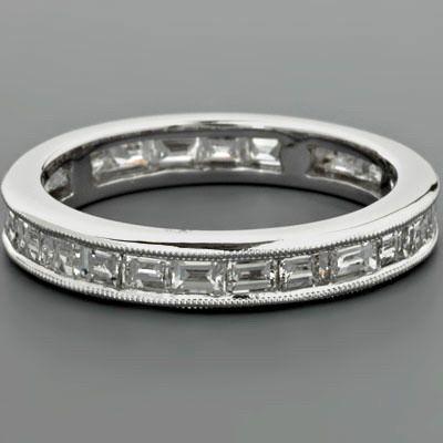 Baguette Diamond Eternity Ring  / Special Order