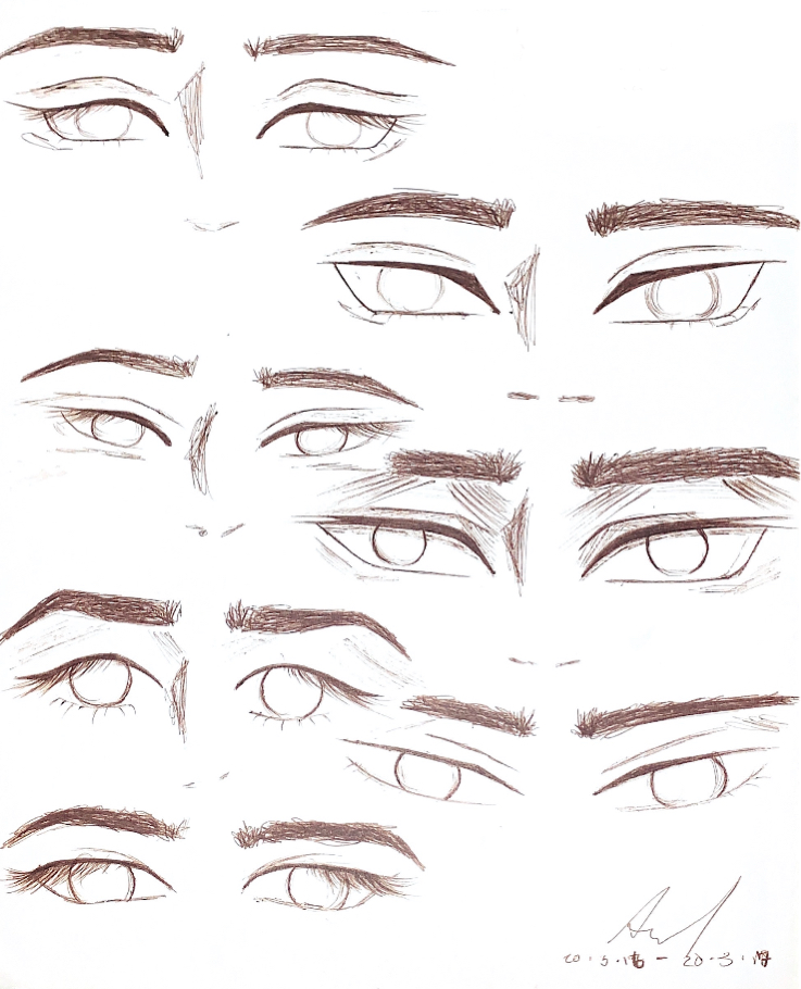 Finding My Art Style Eye Sketching In 2020 Eye Sketch Anime Drawings Sketches How To Draw Anime Eyes
