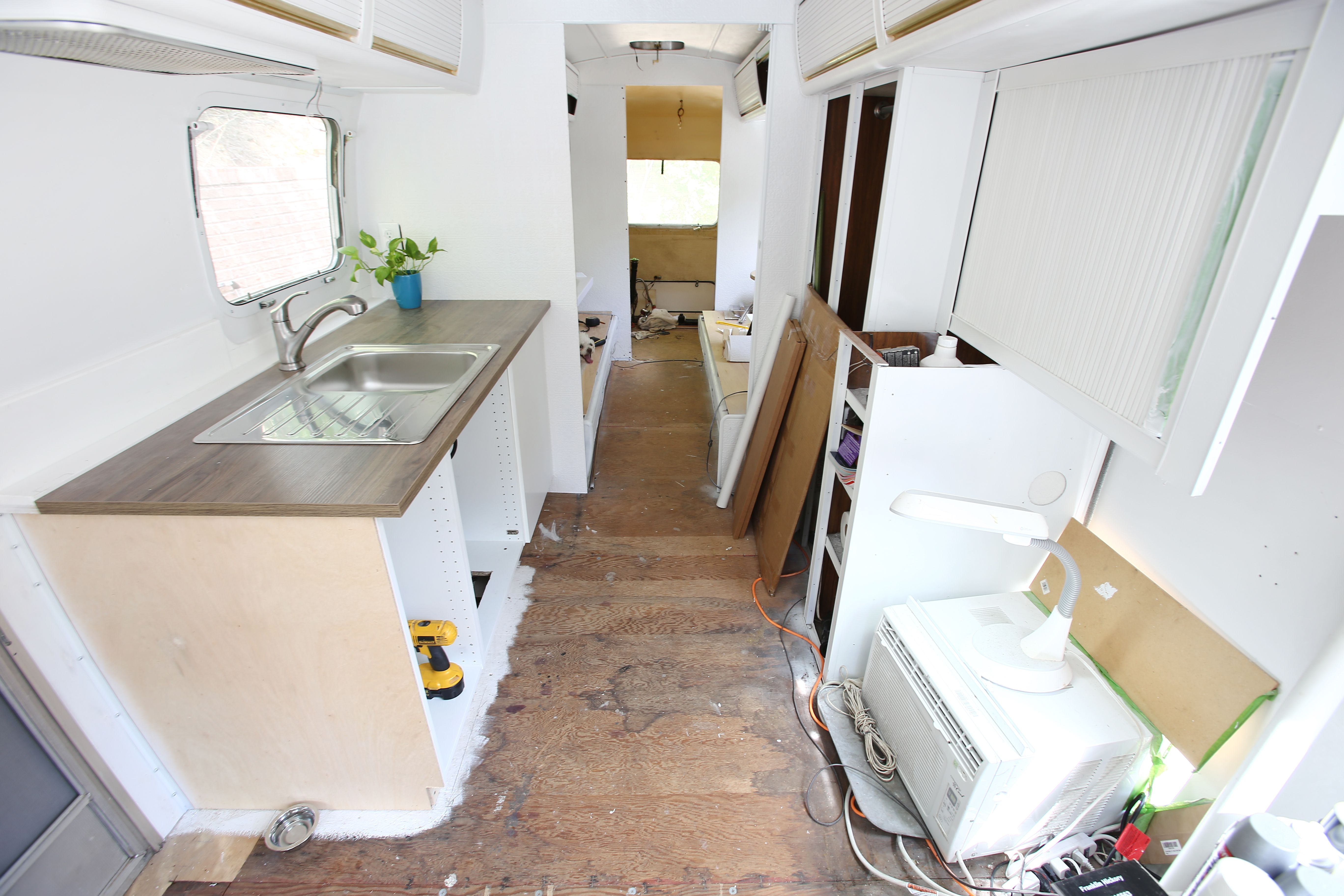 Airstream Kitchen Remodel | Before & After – Mavis the Airstream ...