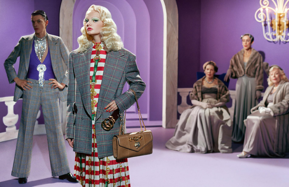 Did Gucci just make the campaign of the season, year