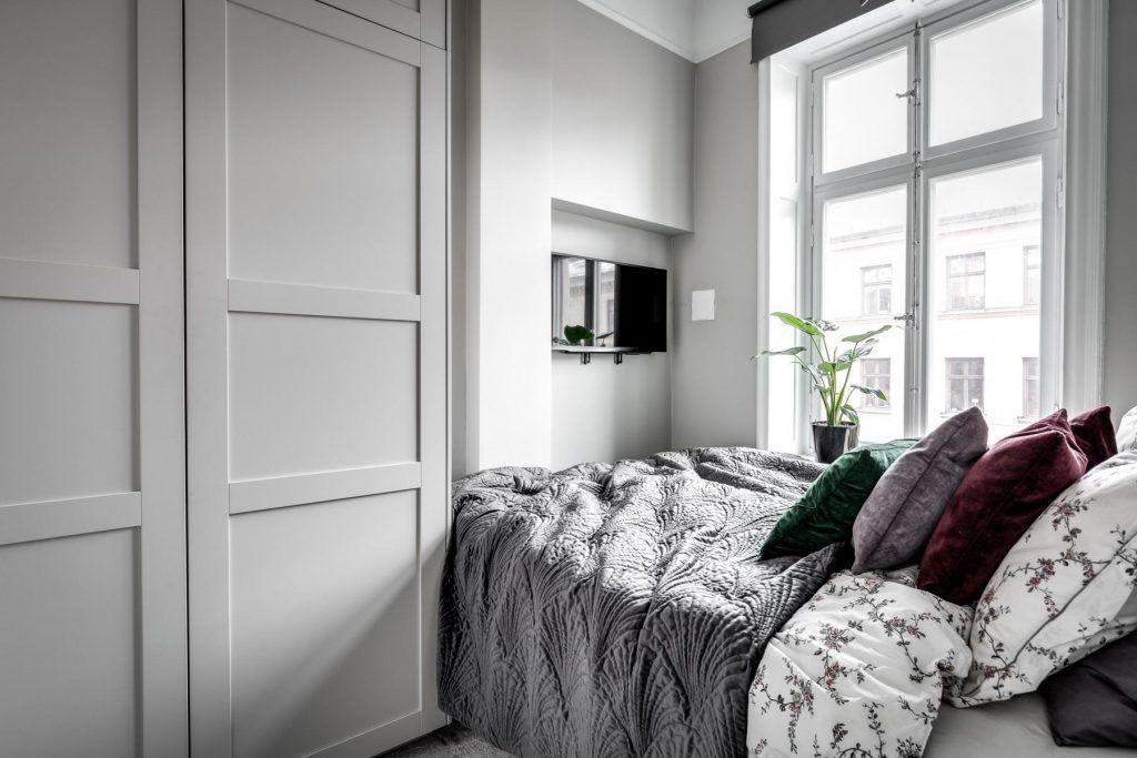 Inspiratie Kleine Kamer : Kleine slaapkamer inspiratie klein appartement slaapkamer en
