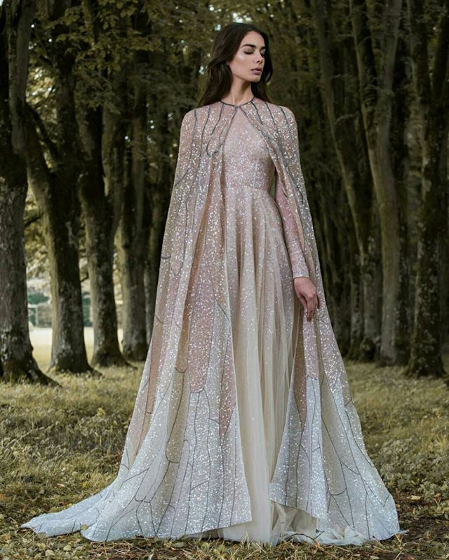 Paolo Sebastian AW 2016/17 I love the cape idea for wedding photo ops and maybe the ceremony. I could imagine walking royally and gracefully down the isle