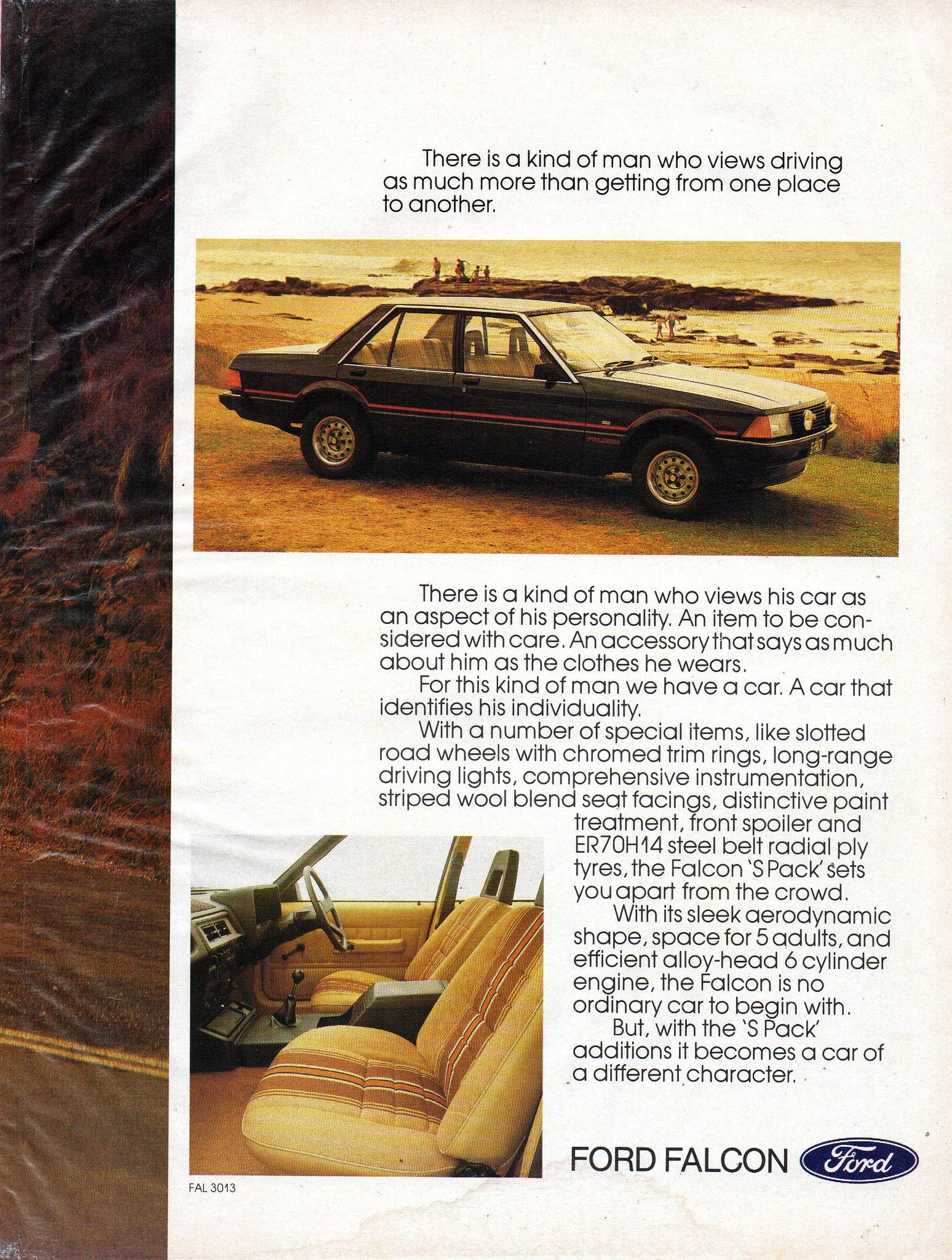 1981 Xd Ford Falcon S Pack 4 1 Litre Sedan Page 2 Aussie Original Magazine Advertisment Ford Falcon Australian Cars Ford Motor Company