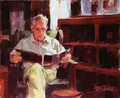 man reading;  candyrigsby.com