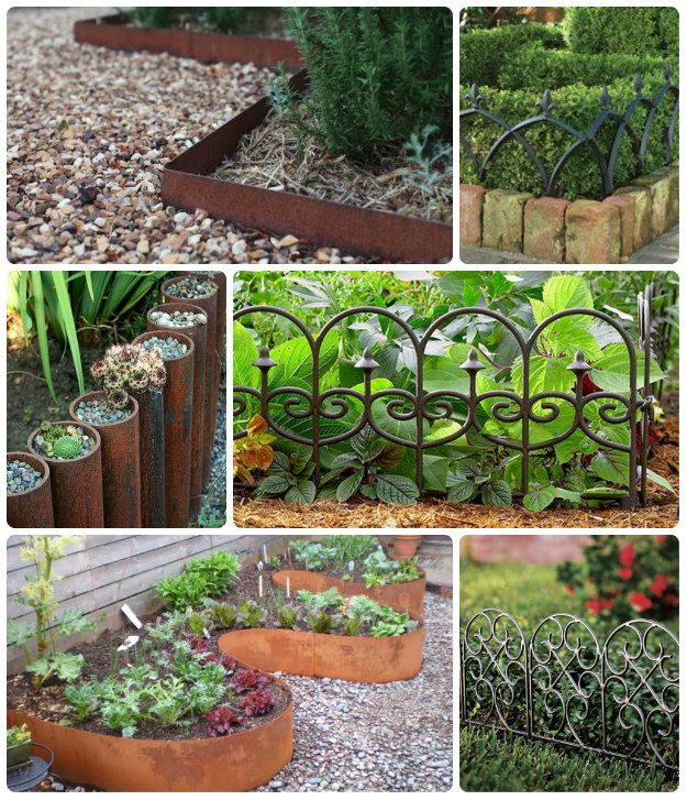 metal garden edging | Garden Edging | Pinterest | Garden edging ...