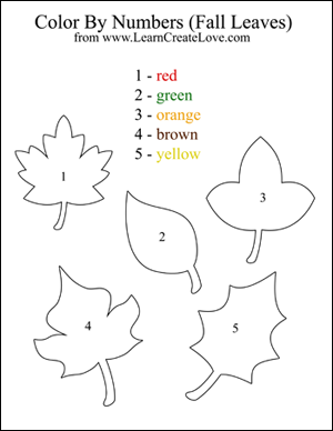photo relating to Fall Printable Activities named shade via figures slide printable game coloring