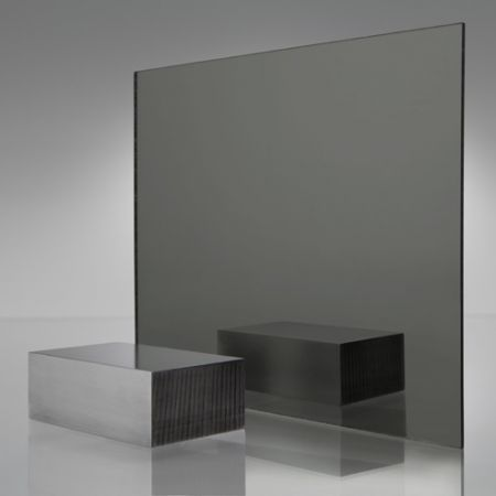 Smoked Glass Acyclic Shwet For Mirrored Wall In Hallway Acrylic Sheets Acrylic Plastic Sheets Gray Mirror