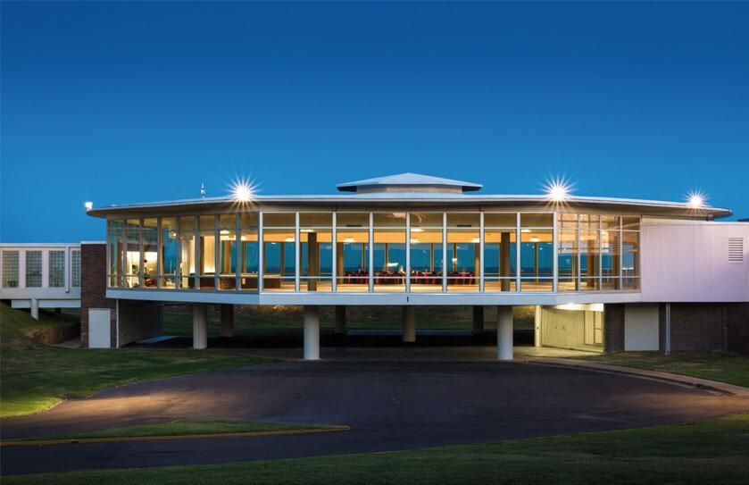 Sylvan Beach Pavilion And Surrounding