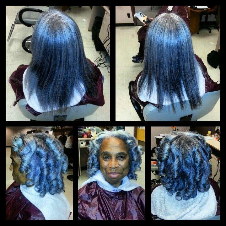Shampoo Blowout Press Amp Curl Curls Transitioning