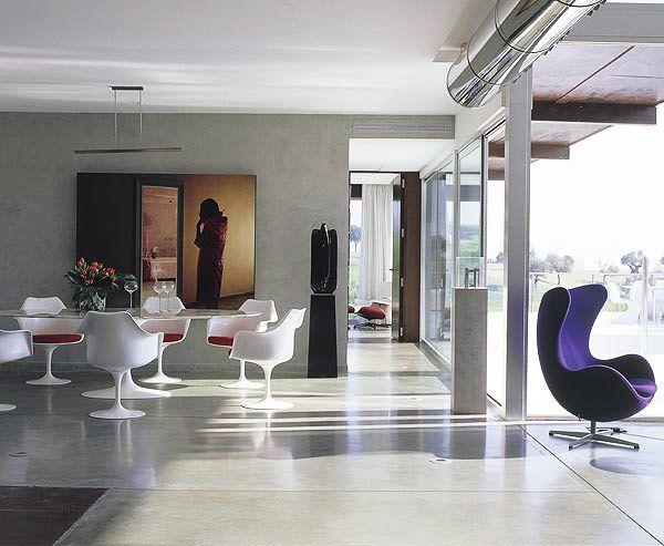 Cool Ultra modern house by Javier de la Calzada Picture - Best of modern blue chair Plan
