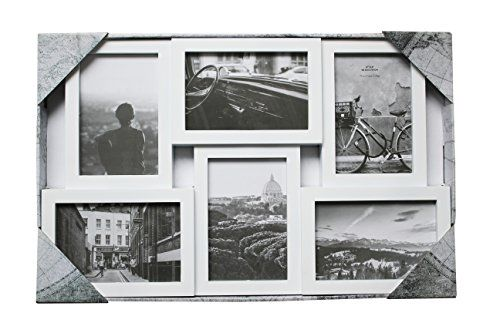 6 Opening Collage Picture Frame Three 4x6 Three 6x4 White Continue To The Product At The Image Link Collage Picture Frames Frame Personalized Wall Art
