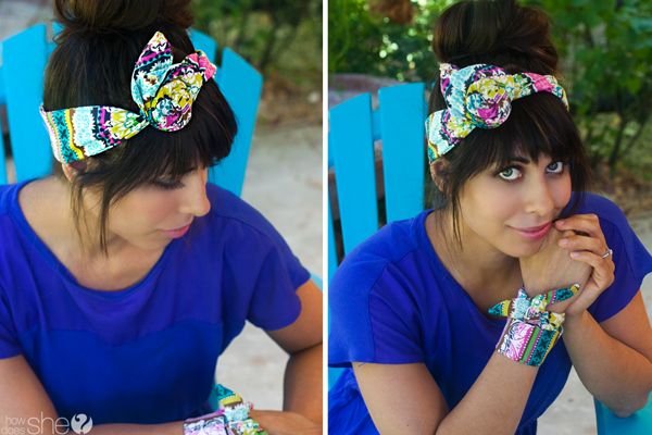 Want to know the secret to the perfect head scarf?...Even how to make your own?! Look no further...it's so easy!