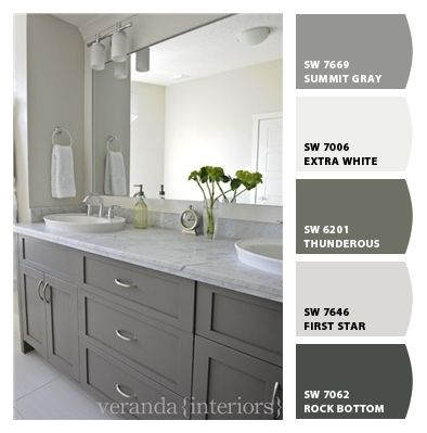 I Just Spotted The Perfect Colors Bathroom Cabinet Colors Gray Cabinet Color Grey Bathroom Cabinets