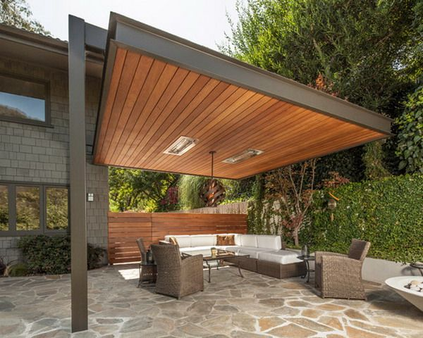 Elegant Awesome Wooden Patio Covering Design Ideas   Best Patio Design Ideas