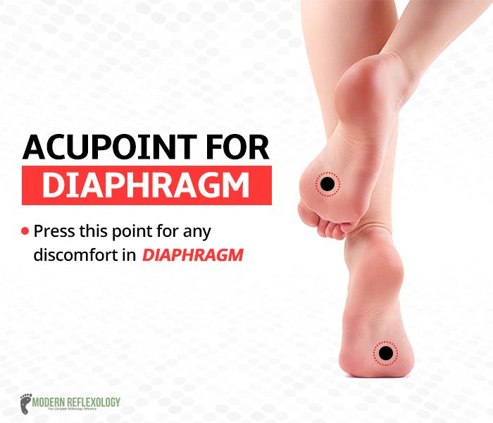 Ease away all discomfort in your diaphragm! #Acupressure
