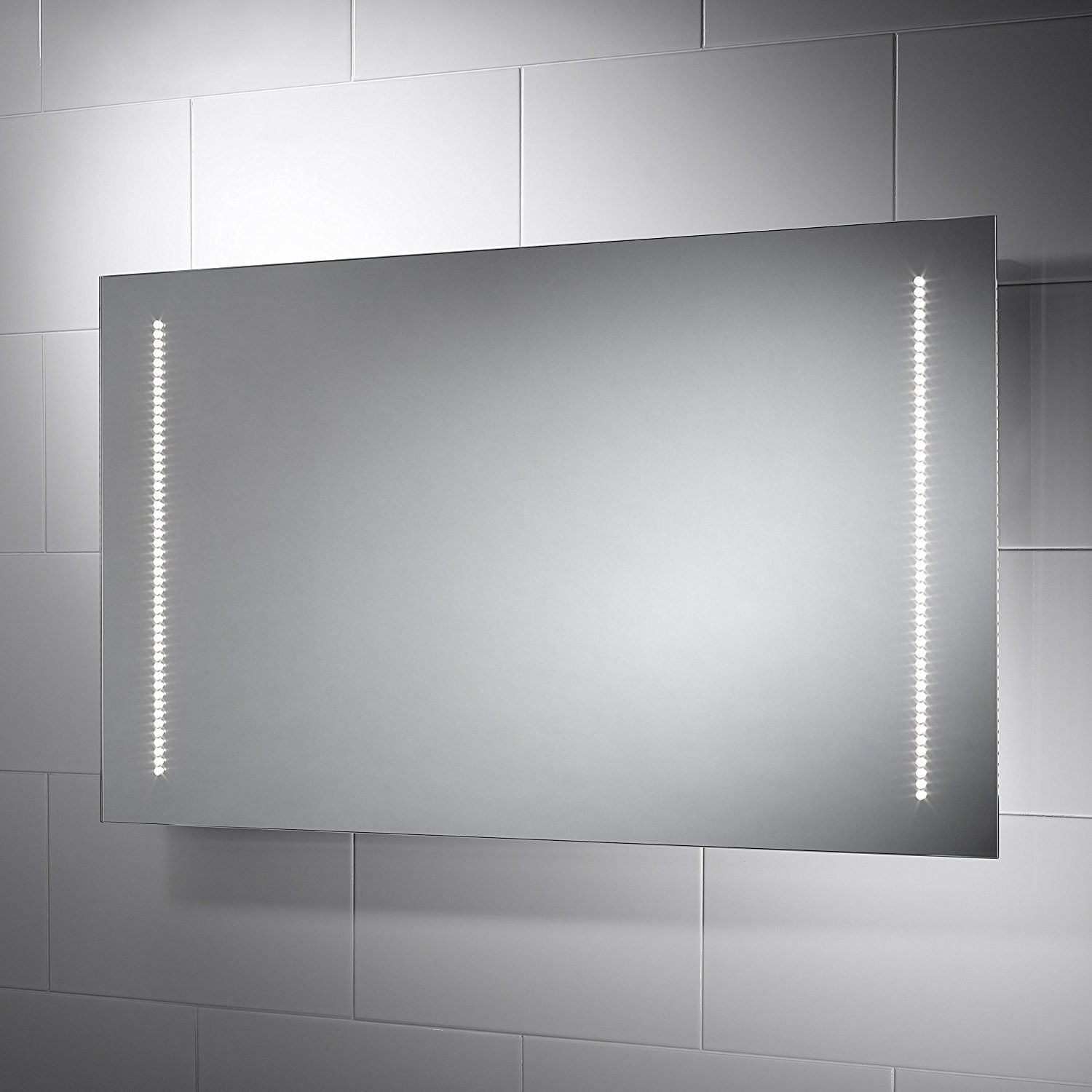New Bathroom Mirror With Led Lights And Shaver Socket Dkbzaweb Com Bathroom Mirror Bathroom Mirror Lights Led Mirror Bathroom