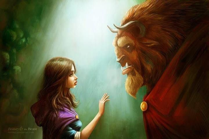 Beauty and the Beast art