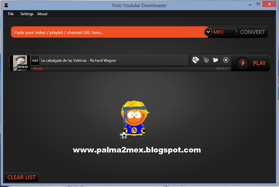 palma2mex aquí encontraras algo diferente: Flvto Youtube Downloader bajar música y videos