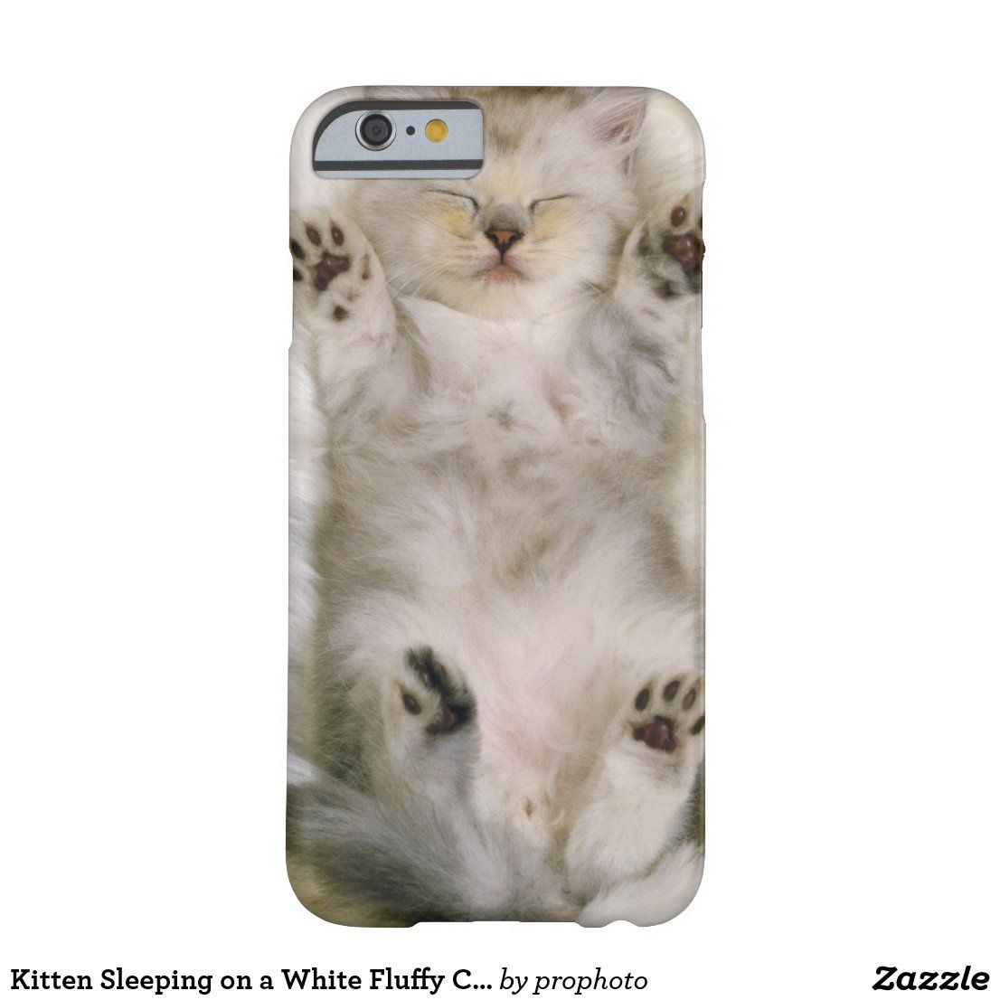 Kitten Sleeping On A White Fluffy Carpet High Case Mate Iphone Case Zazzle Com In 2020 Sleeping Kitten Fluffy Phone Cases Kitten