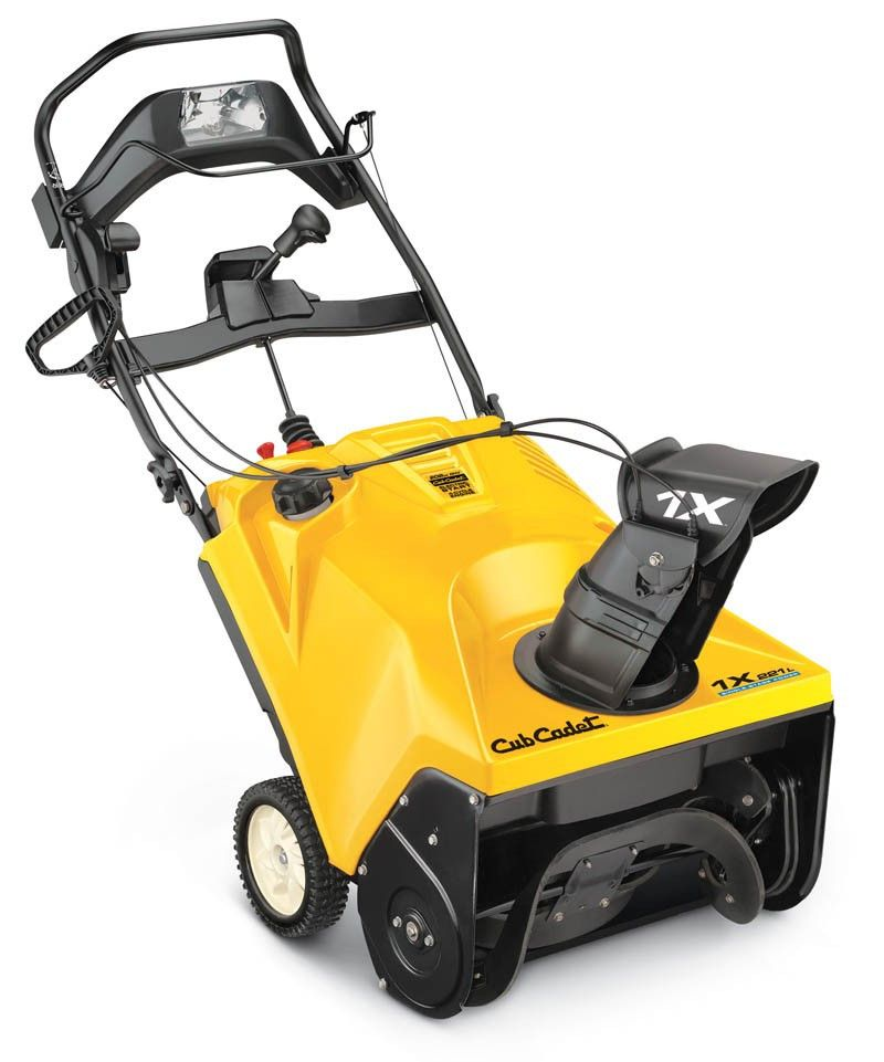 Cub Cadet 1X 221 LHP Single-Stage Snow Thrower | Products