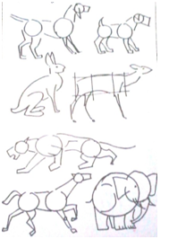 Dibujo En 10 Lecciones Leccion 6 Como Dibujar Animales Como Dibujar Animales Dibujos De Animales Como Dibujar