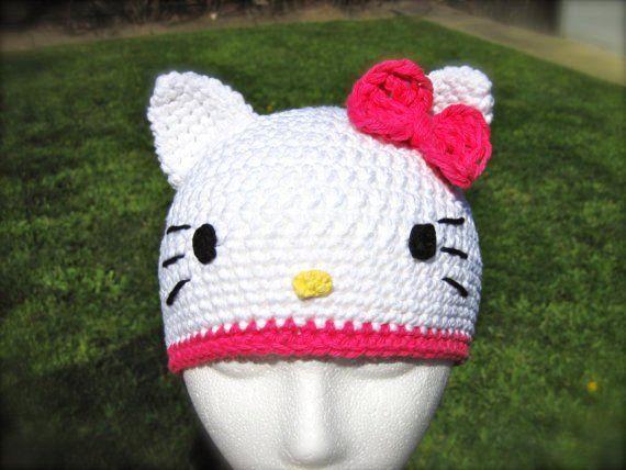 Hello Kitty Hat Pattern Crochet Pdf Hello Kitty Pinterest