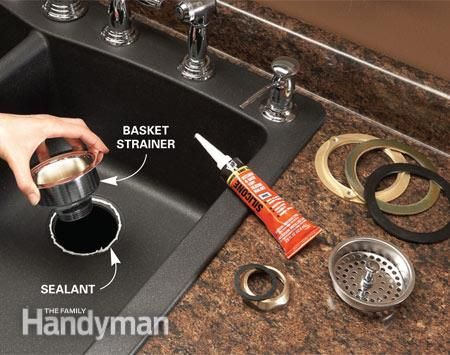 Replace a Sink | Woodwork, Tools, Home Repair | Pinterest | Sinks ...