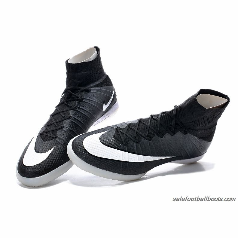 more photos 26c7a 09c07 Nike Elastico Superfly IC Black White 86.99