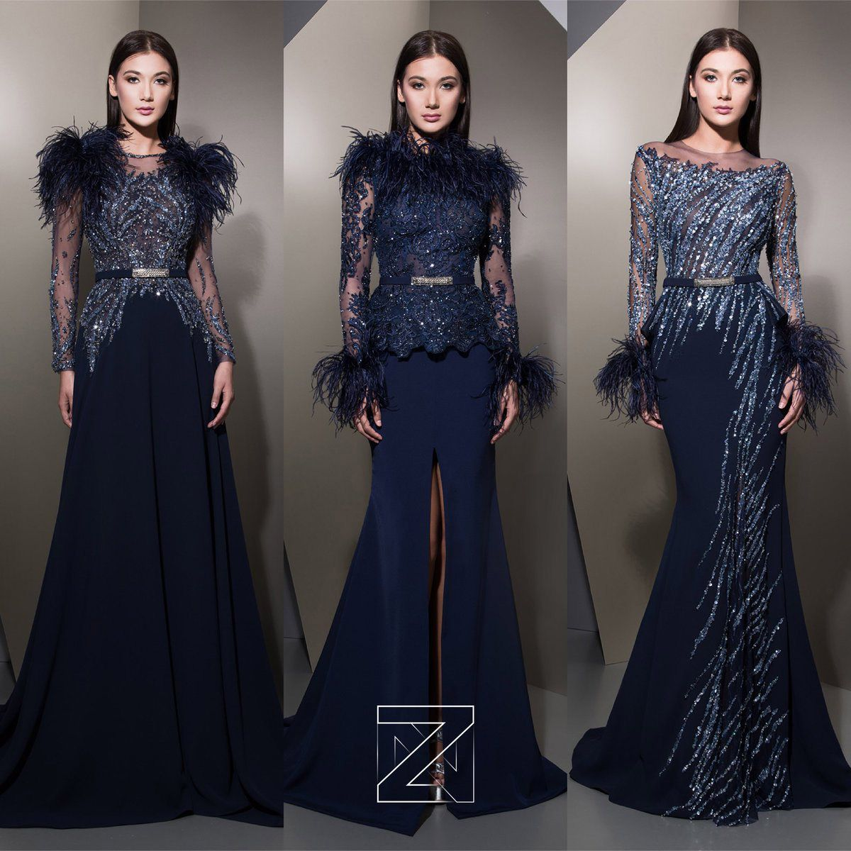 9175e0dc2e1 Ziad Nakad Haute Couture осень-зима 2018-2019