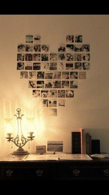 Pared del cuarto de Natalia ideas de Decoración Pinterest