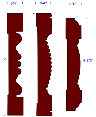 Pictures of Wood Trim Molding Profile Samples - Do ...
