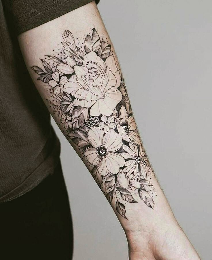Pin By Lisy Lis On Tattoo Pinterest Tatouage Tatouage Fleur And