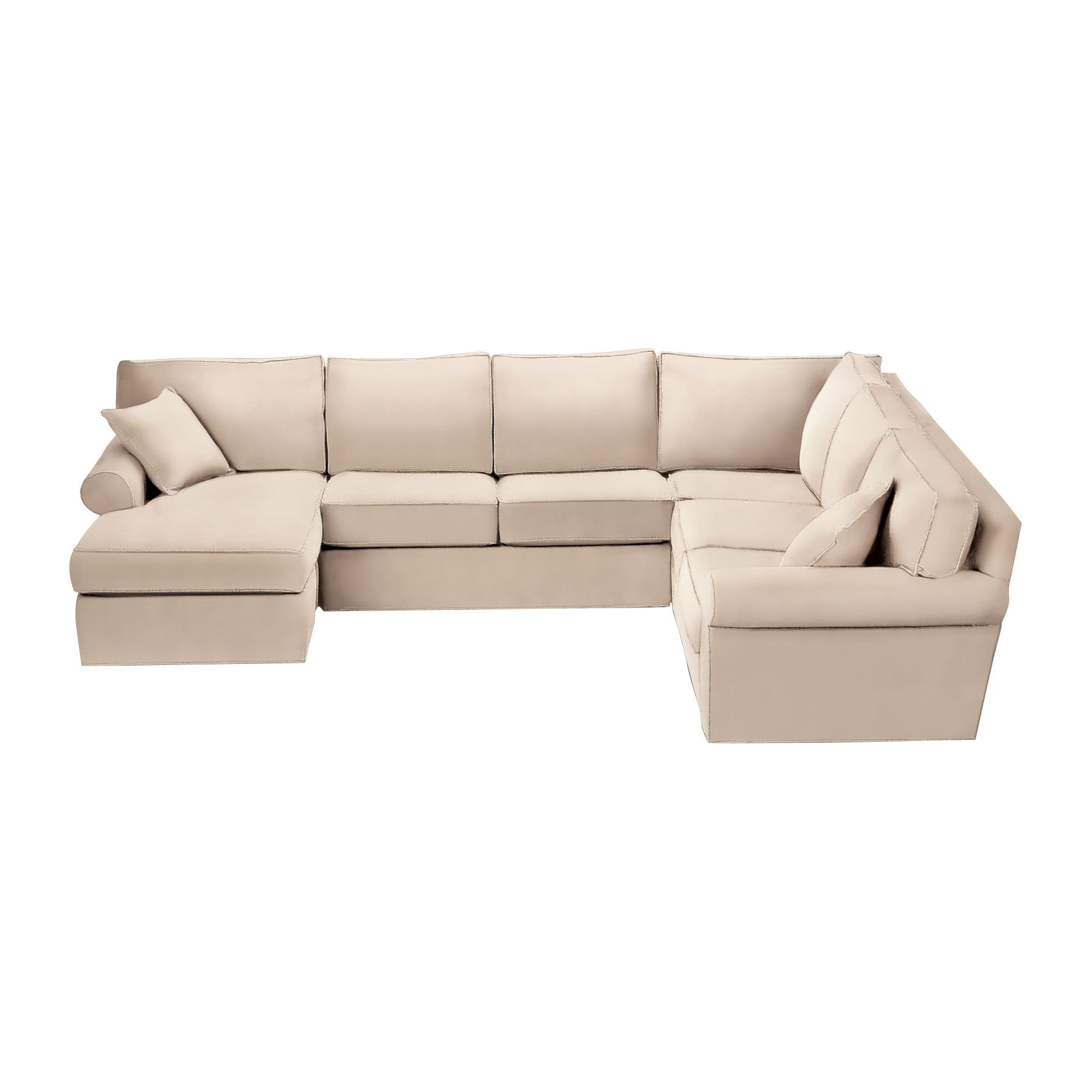 Captivating Our Current Sectional In Leather Great Depth For Tall People And Down Make  It Comfortable 10 Years Later The Bottom Cushion Are Springy Soft As Day  Love ...