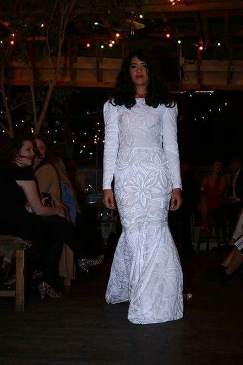 Varu Designs Wedding Dress Polynesian Roots Pinterest
