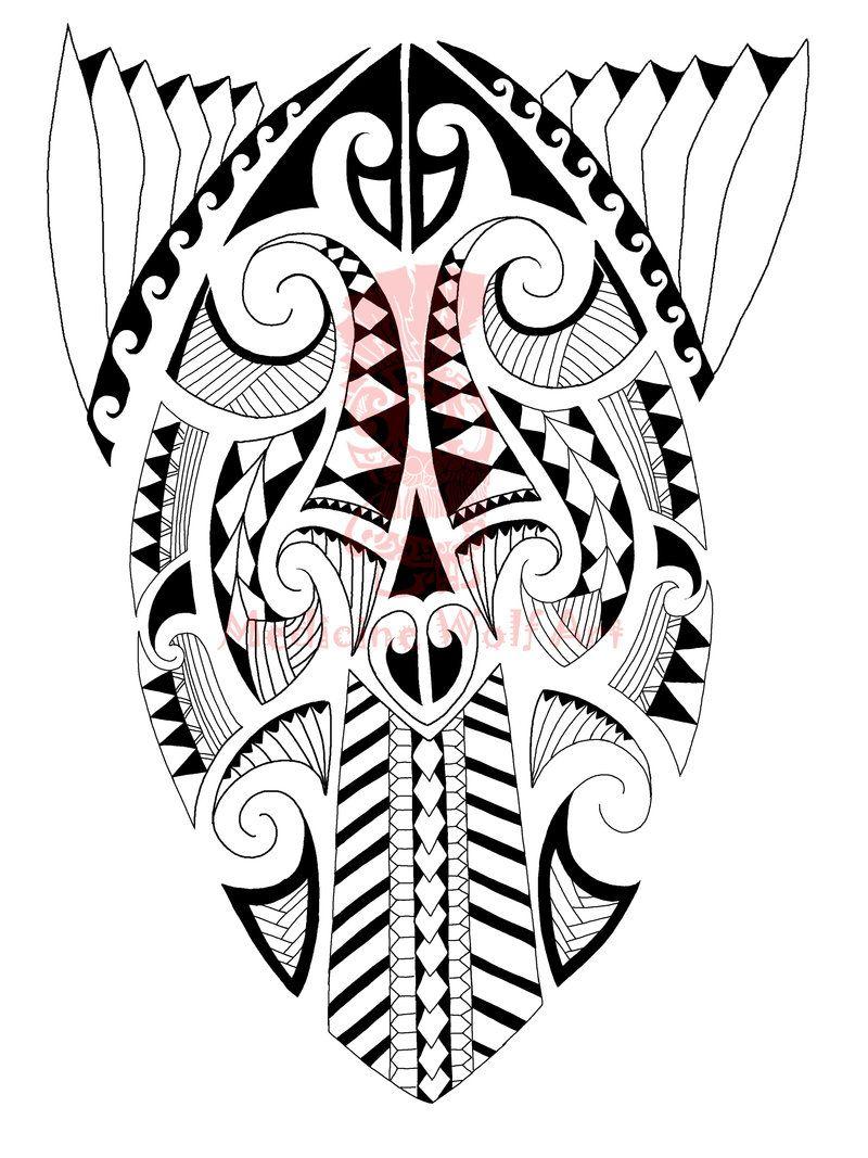 Maori Tattoo Digital Designs: Maori Calf Tattoo 2 By Medicinewolf