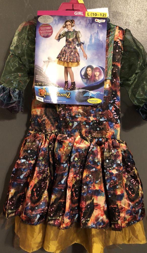 Disney Descendants 2 Dizzy Halloween Costume Headphone Girl S