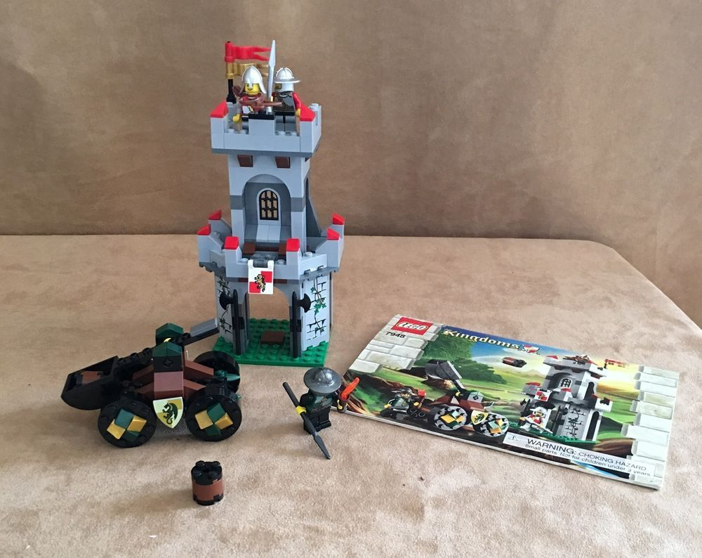 7948 Lego Complete Outpost Attack Castle Knights Instruction Book